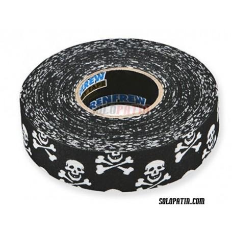 Skull Ribbon Tape Hockey Sticks