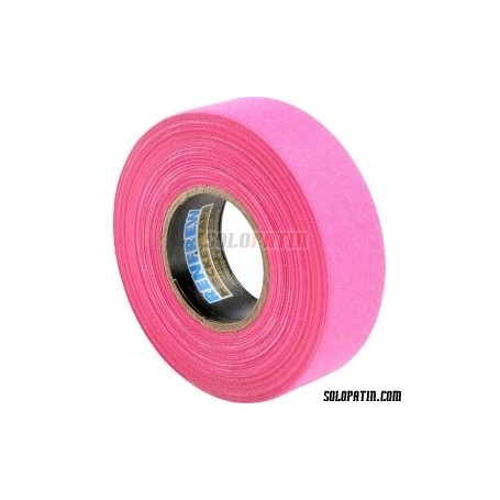 Fucsia Ribbon Tape Hockey Sticks