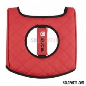 Züca Seat Cushion Negro / Rojo