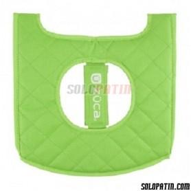 Züca Seat Cushion Negro / Verde