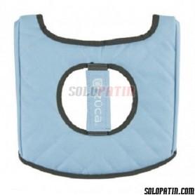 Züca Seat Cushion Negre / Blau