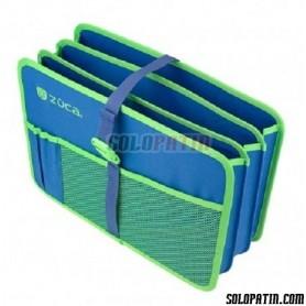 Züca Organizador Documentos  Azul / Verde