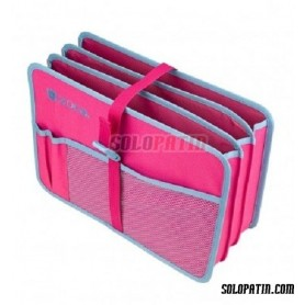 Züca Document Organizer Blue / Pink