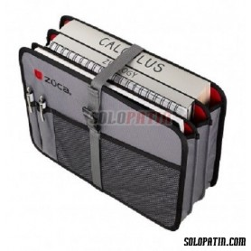 Züca Document Organizer Grey / Red