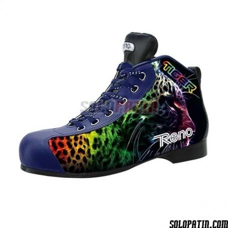 Rollhockey Schuhe Reno Milenium Plus III Schwarz