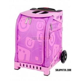 Zuca Mini Smile Pink/Pink Frame Flashing wheel set