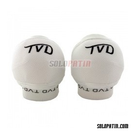 Hockey Knee Pads TVD SPIDER WHITE
