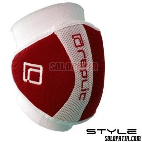 Rodilleras Hockey Replic STYLE Rojo