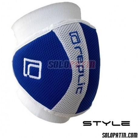 Rodilleras Hockey Replic STYLE Azul