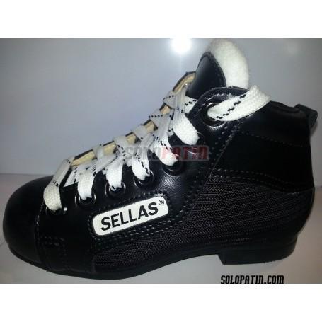 Hockey Boots Reno Initation Black White