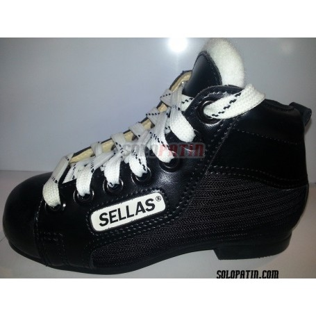 Rollhockey Schuhe Reno Einleintung Schwarz Weiss