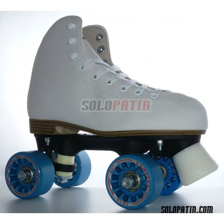 Figure Quad Skates INITIATION FIBER Frames KOMPLEX IRIS Wheels