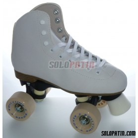 Figure Quad Skates INITIATION FIBER Frames ROLL-LINE BOXER Wheels