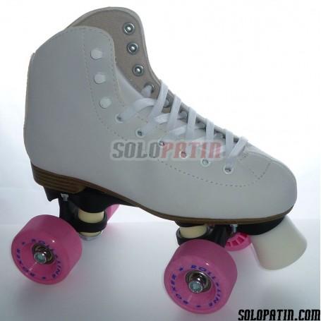 Figure Quad Skates INITIATION FIBER Frames ROLL-LINE BOXER Wheels