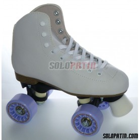 Figure Quad Skates INITIATION FIBER KOMPLEX AZZURRA Wheels