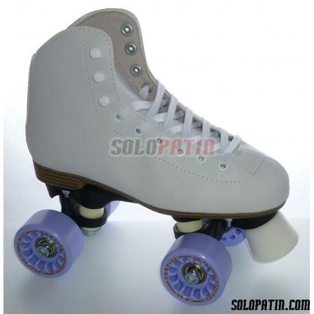 Figure Quad Skates INITIATION FIBER KOMPLEX AZZURRA Wheels