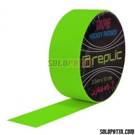 Green Fluor Ribbon REPLIC Tape Hockey Sticks
