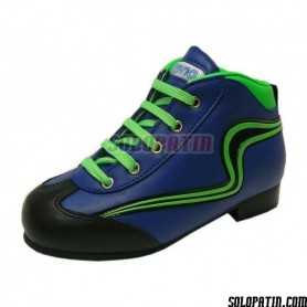 Hockey Boots Reno Initation Fluor blue green