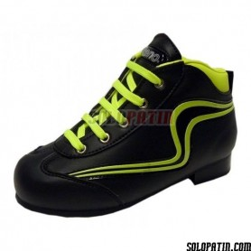 Hockey Boots Reno Initation Fluor black yellow