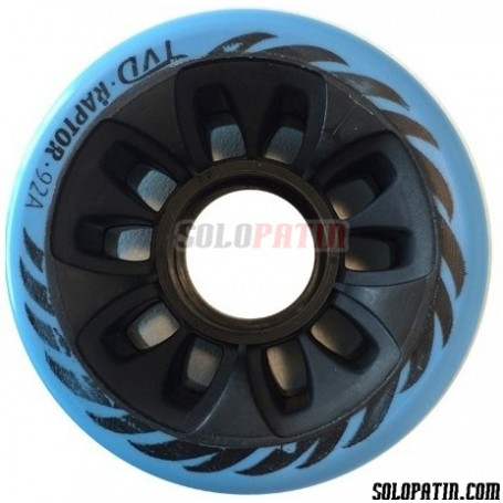 Hockey Wheels TVD RAPTOR 92A BLUE
