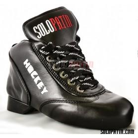 Rollhockey Schuhe Solopatin BEST Schwarz