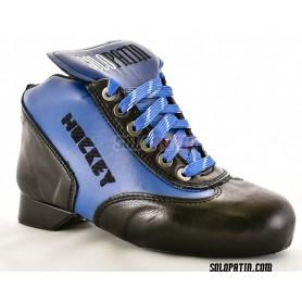 Rollhockey Schuhe Solopatin BEST Blau