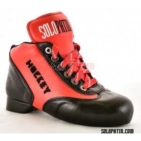 Rollhockey Schuhe Solopatin BEST Rot