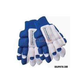 Guantes Hockey Meneghini Impact kids azul/blanco