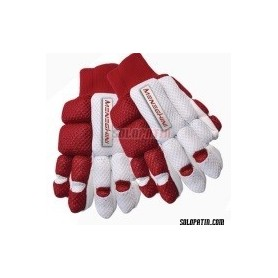 Guantes Hockey Meneghini Impact kids rojo/blanco