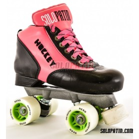 Patins Completos Hóquei Solopatin Best Fibra Preto