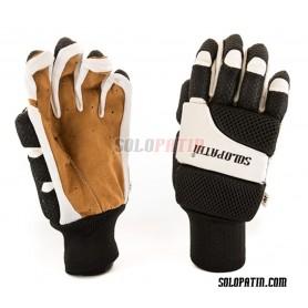 Hockey Gloves Solopatin Light Black