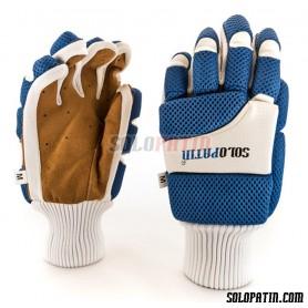 Hockey Gloves Solopatin Light Blue
