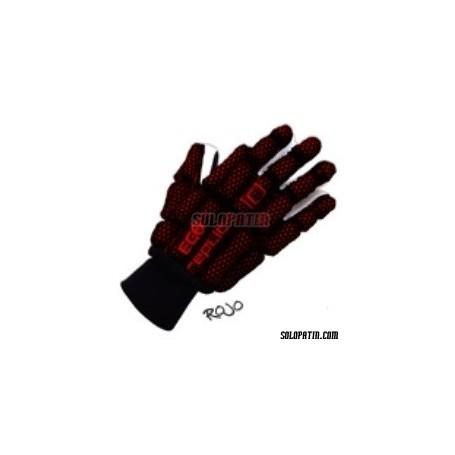 Guantes Hockey Replic NEOX EGO Negro/Rojo
