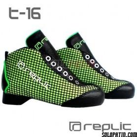Botas Hockey Replic t-16 Verde Fluor
