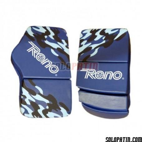 Guantes Portero Reno Profesional Camouflage Azul
