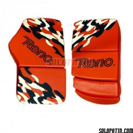 Guantes Portero Reno Supreme Camouflage Rojo