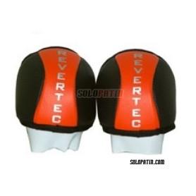 Hockey Knee Pads Revertec Mesh Orange/Black