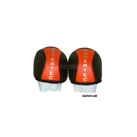 Rodilleras Hockey Revertec Eco Naranja/Negro