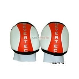 Ginocchiere Hockey Revertec Eco Rosso/Bianco