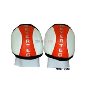 Hockey Knee Pads Revertec Eco Red/White