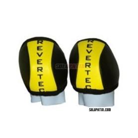 Hockey Knee Pads Revertec Eco Orange/Black