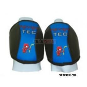 Hockey Knee Pads Revertec Eco Red/White