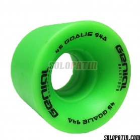 Ruedas portero Hockey Genial Verde