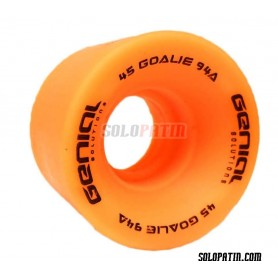 Rollhockey Rollen Torhüter Genial Orange