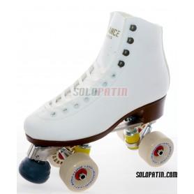 Figure Quad Skates ADVANCE Boots Aluminium Frames ROLL-LINE MAGNUM Wheels