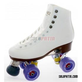 Figure Quad Skates Aluminium Frames ADVANCE Boots BOIANI STAR Wheels