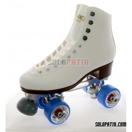 Patines Artísticos Botas ADVANCE Planchas STAR B1 PLUS Ruedas ROLL-LINE GIOTTO