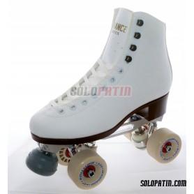 Figure Quad Skates ADVANCE Boots STAR B1 PLUS Frames ROLL-LINE MAGNUM Wheels