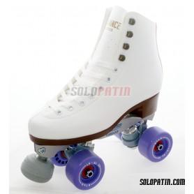 Figure Quad Skates ROLL-LINE VARIANT F Frames ADVANCE Boots BOIANI STAR Wheels