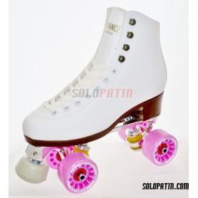Figure Quad Skates ADVANCE Boots BOIANI STAR RK Frames KOMPLEX FELIX Wheels